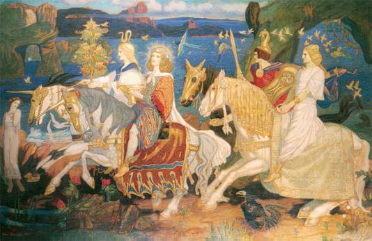 riders of the sidhe painting
